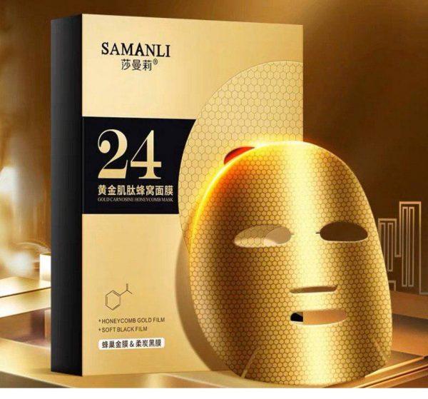 ماسک طلا زغال لانه زنبوری