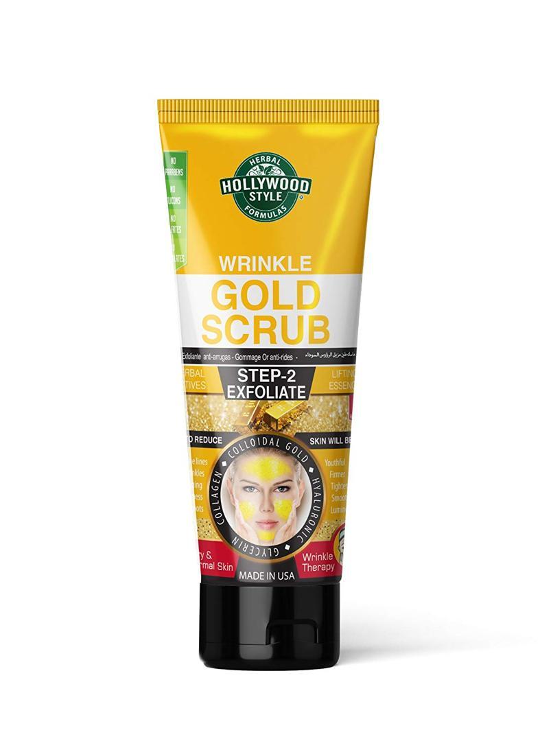 ماسک اسکراب طلا (gold scrub)