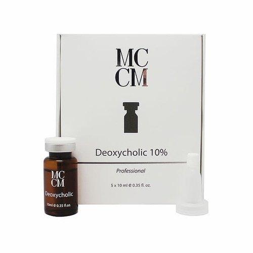 دئوکسیکولیک ام سی سی ام یک محلول مبتنی بر آب از یک شکل مصنوعی اسید دئوکسی کولیک است که یک ماده طبیعی در بدن ما است می باشد.