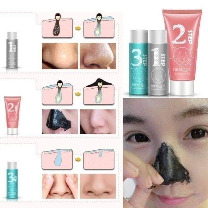 ماسک سه مرحله ای بینی بیواکوا